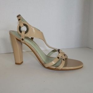 Matisse Tan Leather Strappy Heels