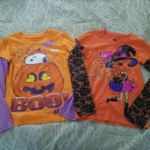 Two adorable Halloween shirts