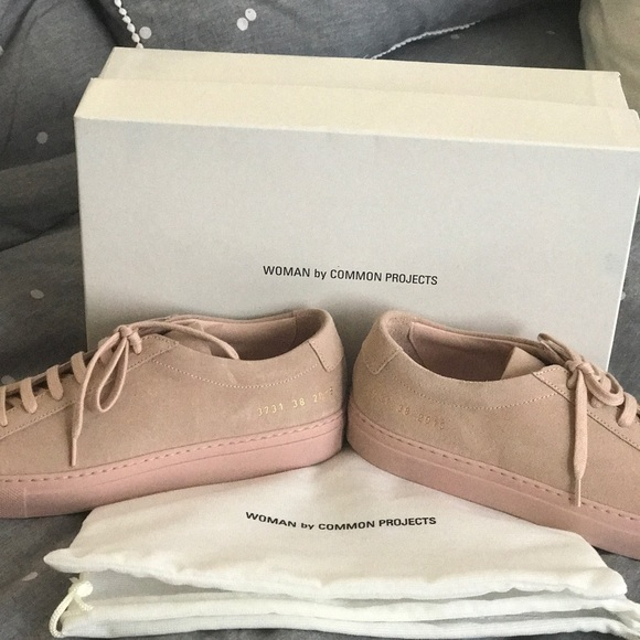 8294d9d8db64 BRAND NEW. Common Projects women s blush sued
