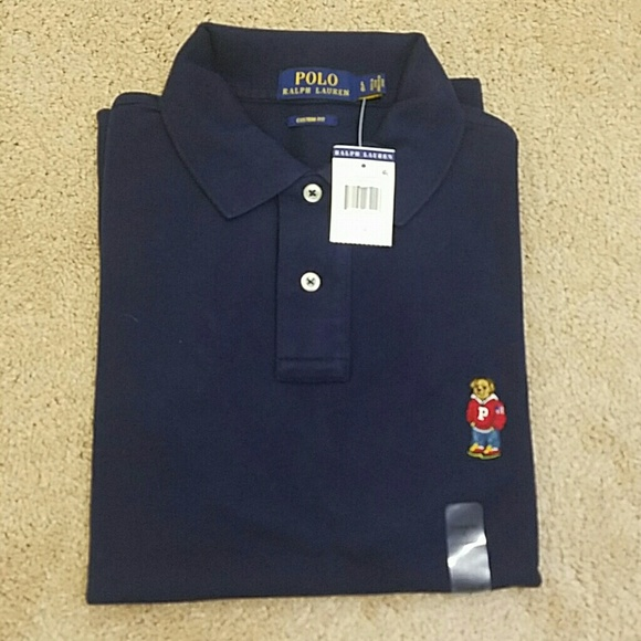 Polo By Ralph Lauren Shirts Ralph Lauren Polo Bear Custom Fit Polo