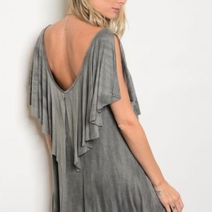 TES BOUTIQUE Dresses - HOST PICK!  RELAXED FIT TIE DYE SHIFT DRESS
