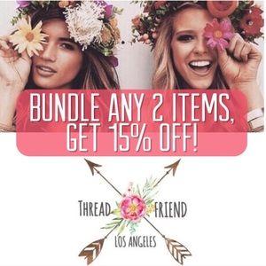 15% OFF ⭐️ Bundle + Save!