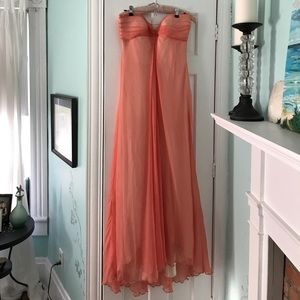 Laundry Strapless Gown