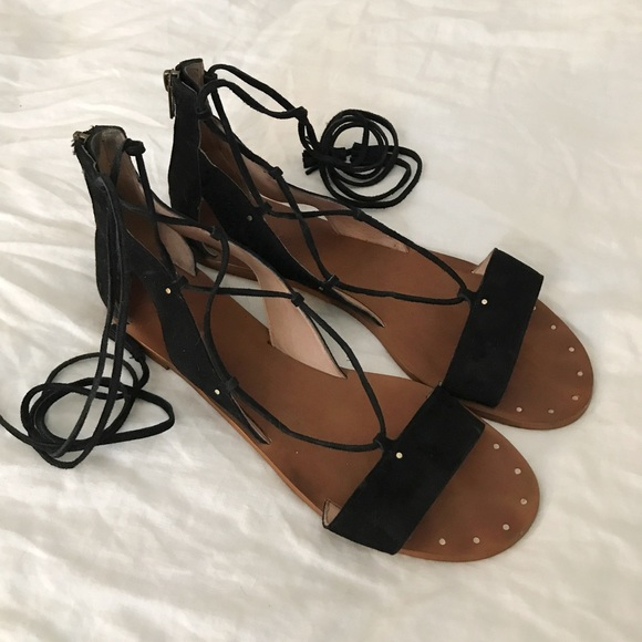 8ca025d2cf2d Madewell Shoes - Madewell Bridget Lace Up Gladiator Sandals