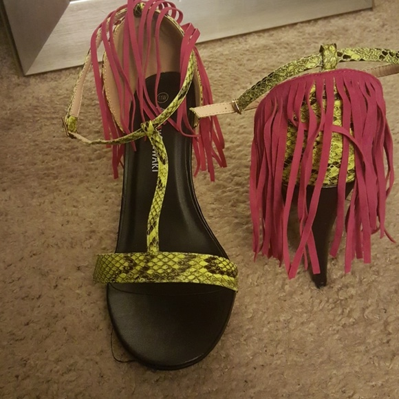 593708e3192 Ashley Stewart Shoes - Wide Width Boogie Fever Sandal heel
