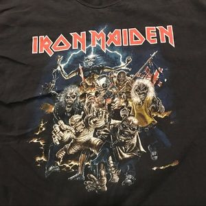 a2b11cb86cc Iron Maiden Shirts - Vintage Iron Maiden