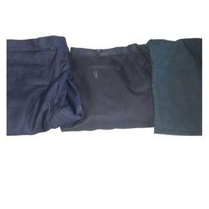 Blue dress pant BUNDLE!!
