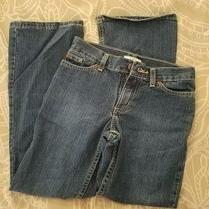 Little girl's size 10 SO jeans