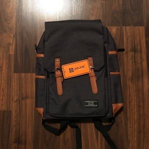 Other - NWT Korean style dark grey backpack