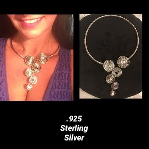Jewelry - 🦋Mexico•Sterling Sliver•Vintage•Twisted Choker