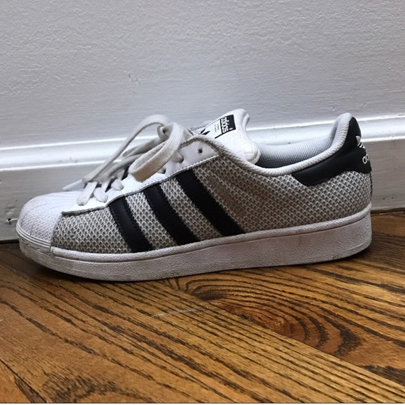 Adidas zapatos multi - textura superestrellas poshmark