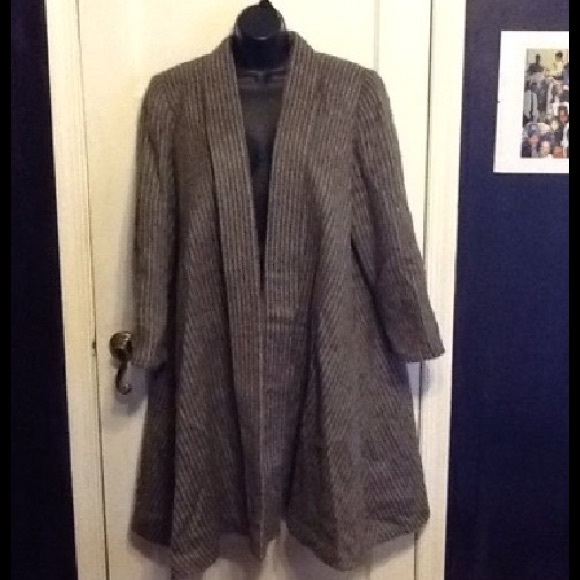 Christian Dior Jackets & Blazers - Christian Dior Vintage Wool Trapeze Coat