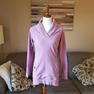 Guide Series Purple Cowl Neck Sweater