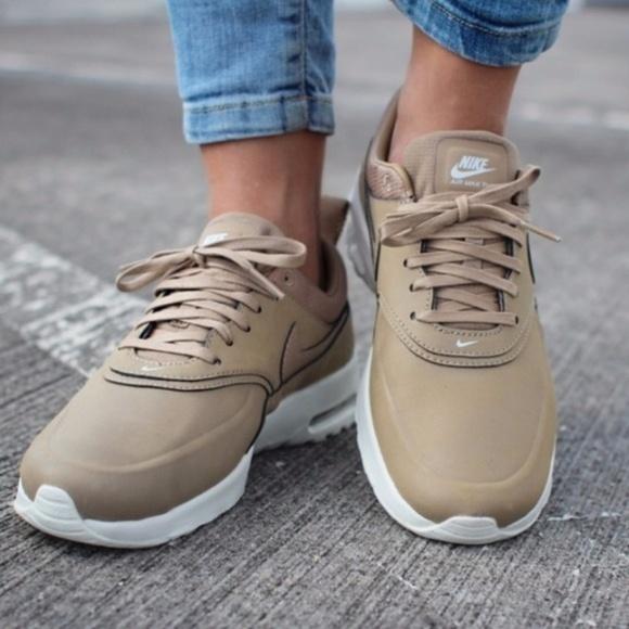 Nike Air Max Thea Premium Desert Camo Size 8