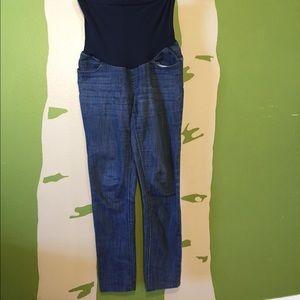 "Motherhood maternity jeans, size M, 29"" inseam"