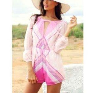 Sabo Skirt Long sleeve Playsuit