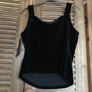AGB BYER California Black Velvet Tank