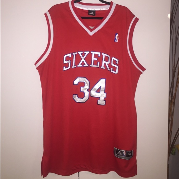 c46790e0fb7 adidas Other - Adidas Barkley Sixers 76ers swingman Jersey 34