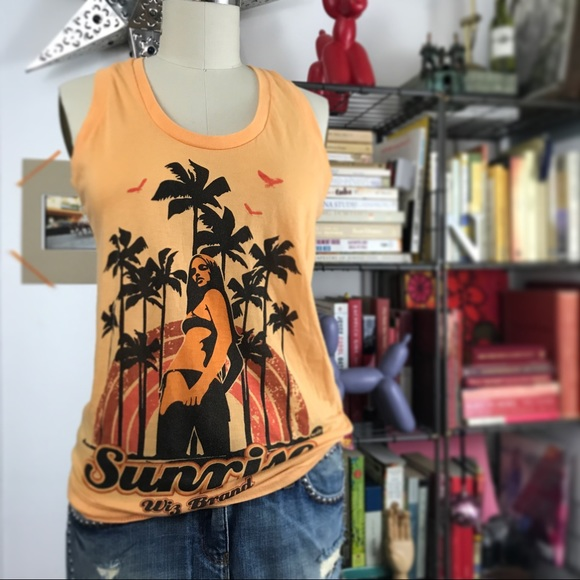 Recommend Cheap Price Cheap Free Shipping Sleeveless Knit Top - Sunrise by VIDA VIDA Discount Huge Surprise RB1qQUI1