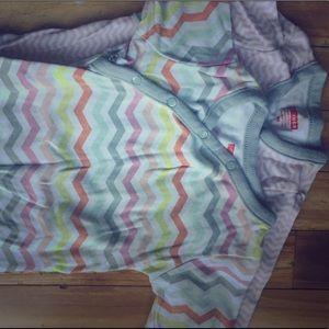 Baby girl kimono long sleeve onesies Skip Hop