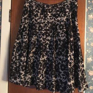 Isaac Mizrahi pleated skirt, Size 12