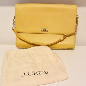 💛 Hello Yellow 💛 J.Crew Leather Bag/Purse