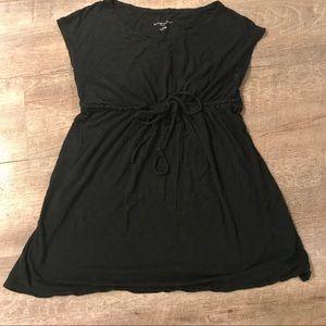Liz Lange maternity tunic with drawstring