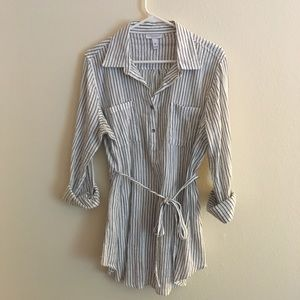 Liz Lange Maternity striped tunic
