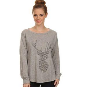 Deer long sleeve sweatshirt