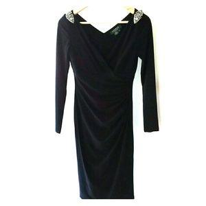 New Ralph Lauren Evening black dress