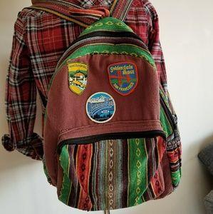 Katmandu traveler's backpack