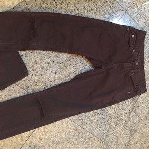 LF Carmar Distressed Jeans