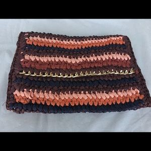 H & M Woven clutch