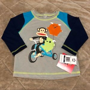 NWT Paul Frank long sleeve 18m
