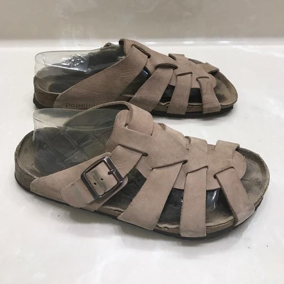 14b7ae88de2173 Authentic Papadillo Birkenstock leather sandals 9