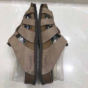 f39aae3299aa0b Birkenstock Shoes - Authentic Papadillo Birkenstock leather sandals 9