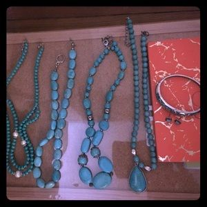 Jewelry - Bundle of real authentic turquoise jewelry