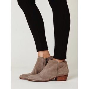 Faux Suede 'Petty' Ankle Boots