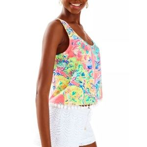 NWT LILLY PULITZER Shirley top