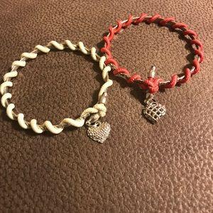 Jewelry - Heart bangles