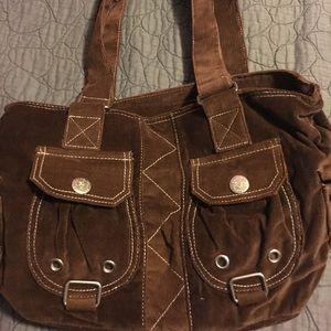 Handbags - Corduroy bag
