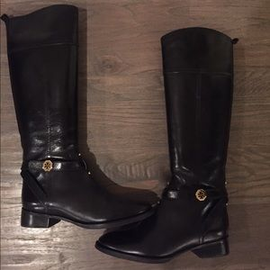 e97916ea5286 ... uk tory burch shoes tory burch brita black riding boots 5884d 1a1f3