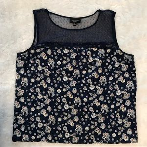 Gorgeous Jason Wu floral and lace top