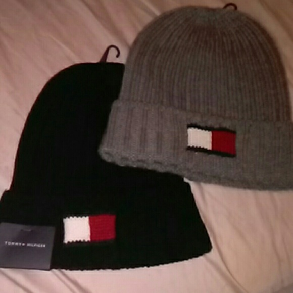 6a95ff116 Tommy Hilfiger mens knitted hats new one size NWT