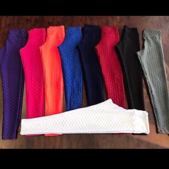 0a114942ec78f Pants | Brazilian Honeycomb Leggings Figure Slim | Poshmark
