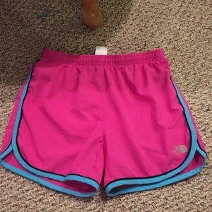 Girls northface shorts
