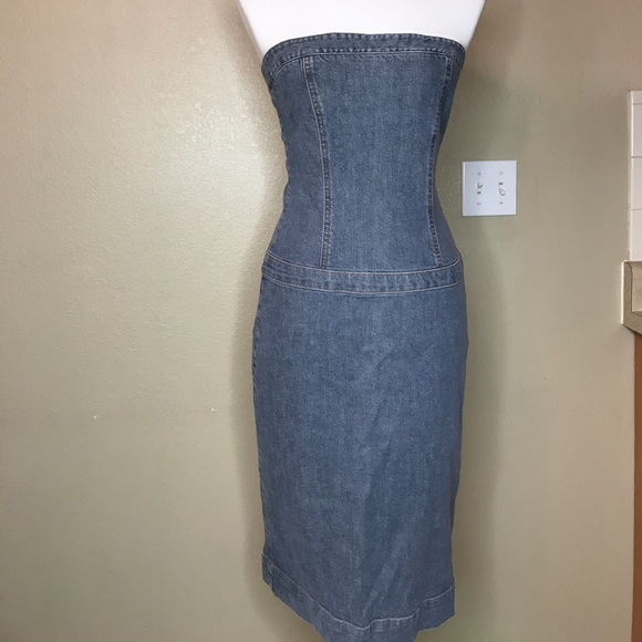 {theory} Halter Jean Dress ❤️
