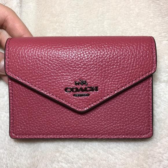 0db66f52168d Coach Handbags - Coach Envelope Card Case