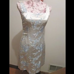 Gorgeous Asian Chinese Blossom Brocade Dress