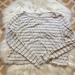 striped bcbgeneration top size M